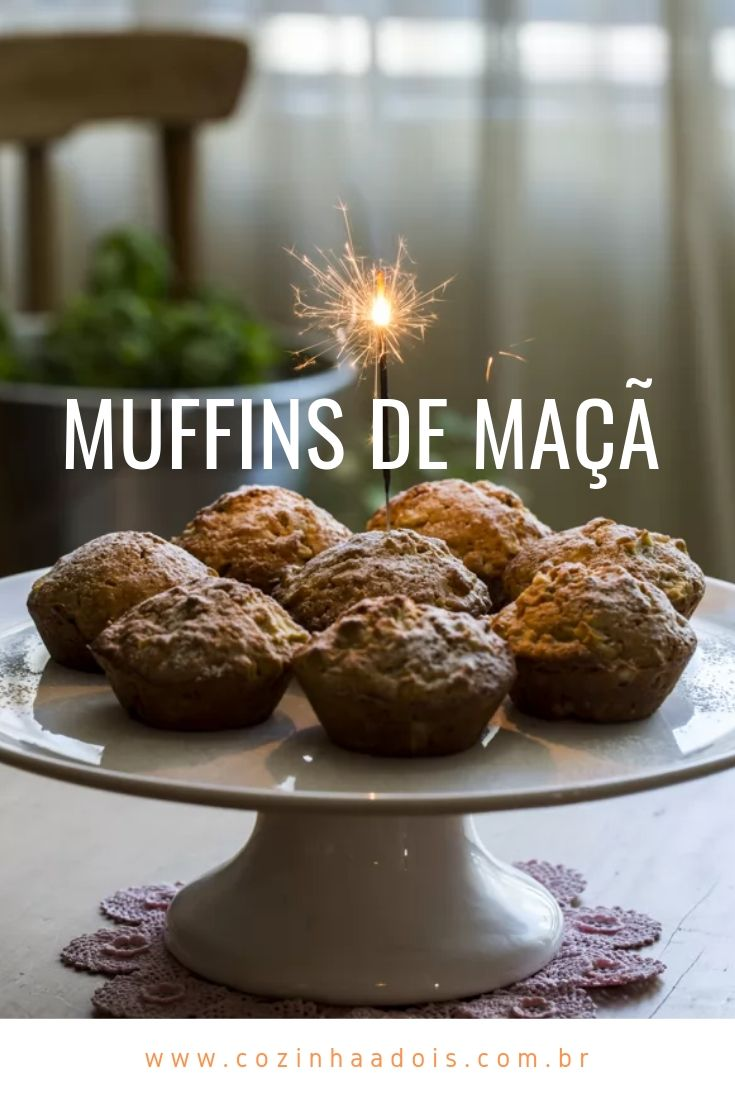 Muffins maçã