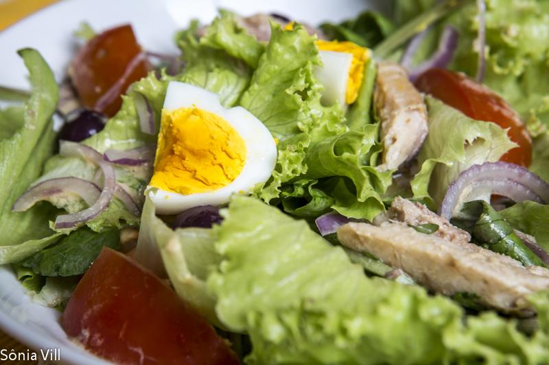 Salada quase niçoise