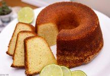 bolo cafe da manha limão iogurte