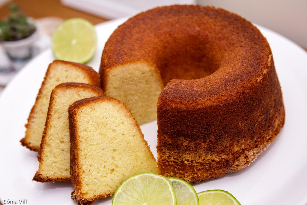 bolo iogurte limão