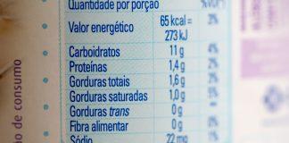 rotulo gordura trans