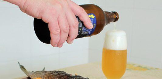 tainha brasa cerveja