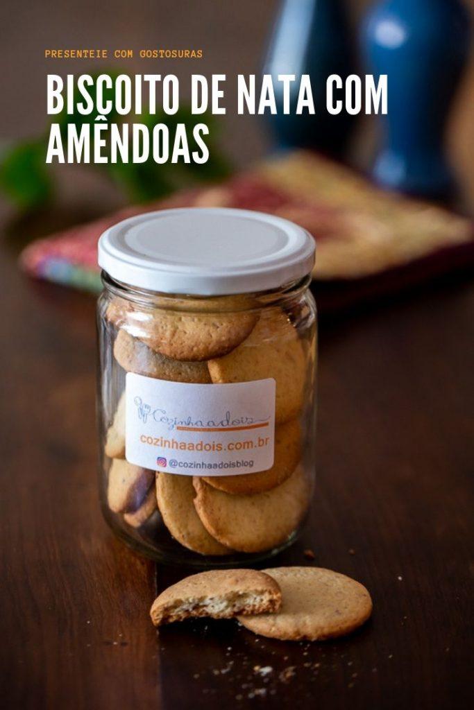 biscoitos para presentear