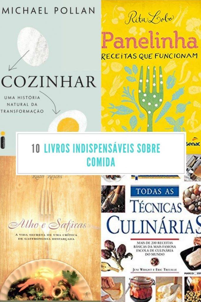 livros sobre comida