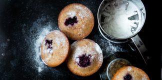 muffins- amendoa