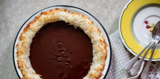 torta coco chocolate