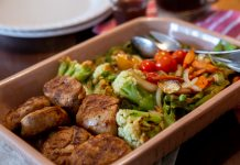 carne legumes